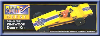 Pinewood Derby Kit